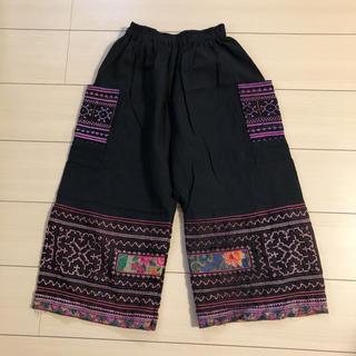 マライカ(MALAIKA)のエスニック系 刺繍ワイドパンツ(サルエルパンツ)