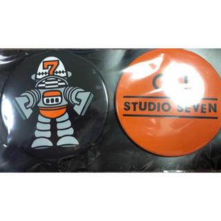 サンダイメジェイソウルブラザーズ(三代目 J Soul Brothers)の【当選品】GU ジーユー studio seven 缶バッジ 三代目 (その他)