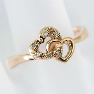 サマンサティアラ(Samantha Tiara)のサマンサティアラ K18PG ダイヤモンド リング 10.5号[f417-1](リング(指輪))