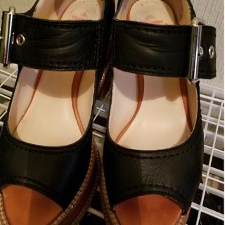 ヴィヴィアンウエストウッド(Vivienne Westwood)のVivienneWestwood♡オープントゥシューズ(ローファー/革靴)