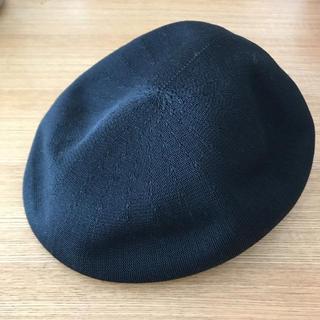 ハンチング ブラック L(ハンチング/ベレー帽)