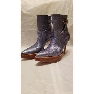 トーガ(TOGA)のTOGA PULLA メタリックブーツ(ブーツ)