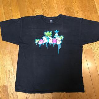 アディダス(adidas)のadidas big logo Tシャツ XL(Tシャツ/カットソー(半袖/袖なし))