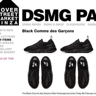 ブラックコムデギャルソン(BLACK COMME des GARCONS)の新品未使用 CDG × NIKE AIR FOOTSCAPE MOTION(スニーカー)