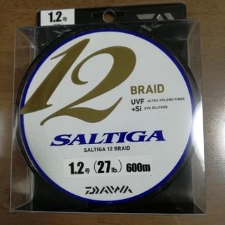 ダイワ(DAIWA)の返送された為特別価格やまやま様専用 600m 12ブレイド ソルティガ 1.2号(釣り糸/ライン)