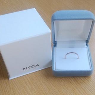 ブルーム(BLOOM)のBLOOM♪♪✨Pink Gold ダイヤリング11号✨  もと値3万円!!(リング(指輪))
