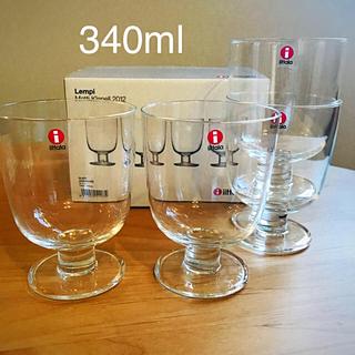 イッタラ(iittala)の新入荷!イッタラ Lempi グラス 4個セット専用箱付き 正規品 送料込(グラス/カップ)