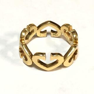 カルティエ(Cartier)のカルティエ イエローゴールド Cハート  リング 18KYG Cartier(リング(指輪))