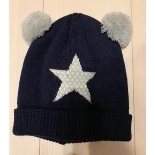 ベビーギャップ(babyGAP)のニット帽 46-50cm(ニット帽/ビーニー)
