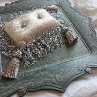 ○専用○ hand made ring pillow 【BG blade】(リングピロー)