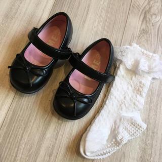 ♡フォーマルシューズ14㎝と靴下セット♡値下げしました!(フォーマルシューズ)