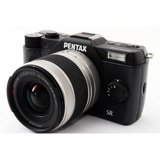 ペンタックス(PENTAX)の★コンパクト超軽量モデル♪WiFiカード付き★ペンタックス Q10 ブラック(ミラーレス一眼)