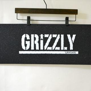 格安新品♪GRIZZLY GRIPTAPE スケボー デッキテープ 送料込(スケートボード)