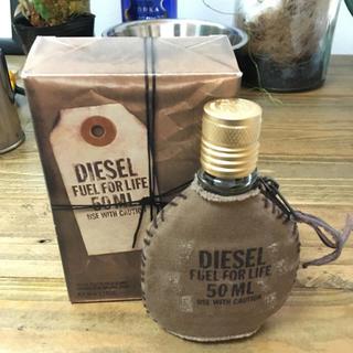 ディーゼル(DIESEL)のdiesel ディーゼル 香水 50㎖  新品未使用(香水(男性用))