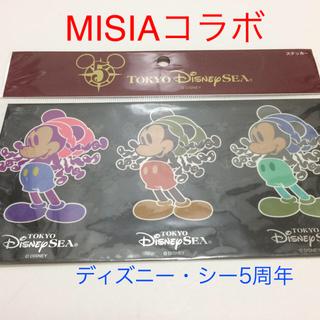ディズニー(Disney)のDisney Sea 5th MISIAコラボ ステッカー【新品・未使用】(ミュージシャン)