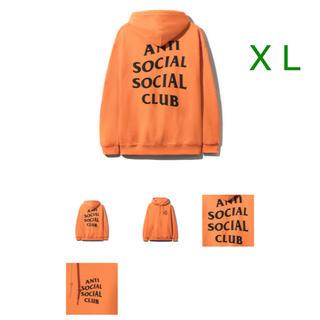 アンチ(ANTI)のAnti Social Social Club パーカー assc XL(パーカー)