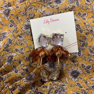 リリーブラウン(Lily Brown)のLily Brown コンビフラワーピアス(ピアス)