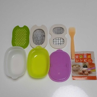コンビ(combi)のコンビ  離乳食ナビゲート調理セット(離乳食調理器具)