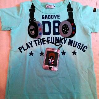 ダブルビー(DOUBLE.B)のスマホ ヘッドホン Tシャツ 半袖 ヘッドフォン(Tシャツ/カットソー)