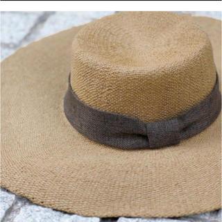 ルームサンマルロクコンテンポラリー(room306 CONTEMPORARY)のBraid Ribbon Hat(麦わら帽子/ストローハット)