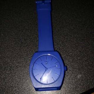 アディダス(adidas)のadidas NIXON 腕時計 青(腕時計)
