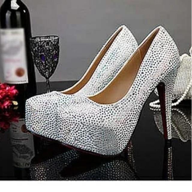 パーティー⭐️キラキラパンプス⭐️ レディースの靴/シューズ(ハイヒール/パンプス)の商品写真