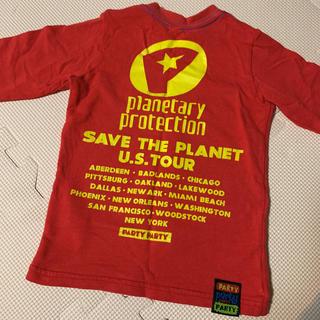 パーティーパーティー(PARTYPARTY)のparty party ☆ロンt(Tシャツ/カットソー)