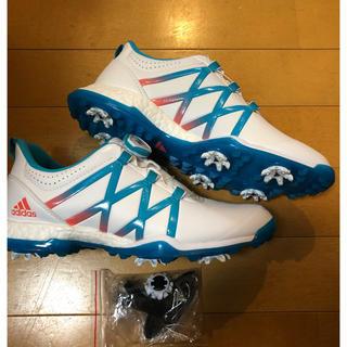 アディダス(adidas)のアディダス レディース ゴルフシューズ アディパワー ボア ブースト(シューズ)