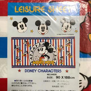 ディズニー(Disney)の【新品/未使用】ミッキー レジャーシート〔大判〕90✖︎188cm Disney(その他)
