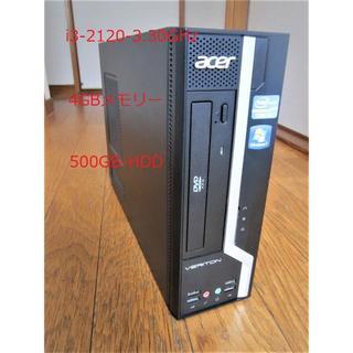 エイサー(Acer)の☆Acer X4610 Core i3 4G 500GB Win10☆(デスクトップ型PC)