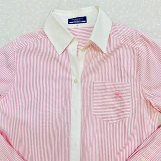 6923751251e3 バーバリー(BURBERRY)のバーバリー ストライプ シャツ 美品Mサイズ(シャツ/ブラウス