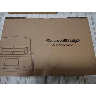 フジツウ(富士通)の新品 FUJITSU ScanSnap スキャナー FI-IX1500(PC周辺機器)