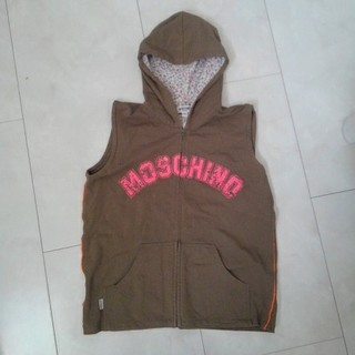 モスキーノ(MOSCHINO)のMOSCHINO ベストパーカー(パーカー)
