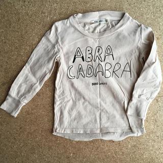 ボボチョース(bobo chose)のBOBO CHOSES ロング Tシャツ  2-3Y(Tシャツ/カットソー)