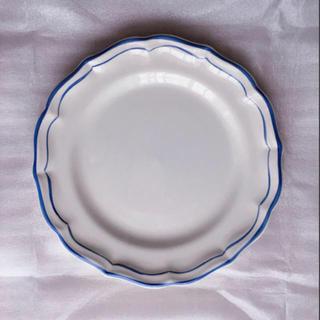 サラグレース(Sarah Grace)の*新品未使用* サラグレース Gien ディナープレート ブルー 27cm(食器)