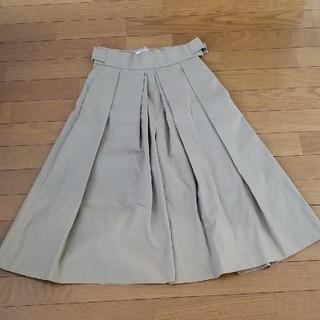 デミルクスビームス(Demi-Luxe BEAMS)のTHE IRON    ワイドスカートパンツ(カジュアルパンツ)