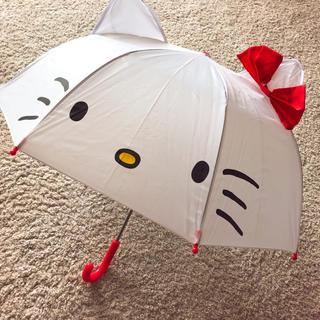 ハローキティ(ハローキティ)のキティ 子供 傘 ①(傘)