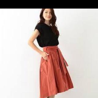 デミルクスビームス(Demi-Luxe BEAMS)のデミルクスギャザースカート(ひざ丈スカート)
