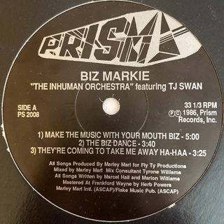 BIZ MARKIE(ターンテーブル)