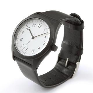 ムジルシリョウヒン(MUJI (無印良品))のソーラー式腕時計 無印良品 本革ベルト(腕時計(アナログ))