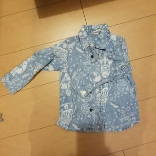 パーティーパーティー(PARTYPARTY)のデニムシャツ KIDS 90(Tシャツ/カットソー)
