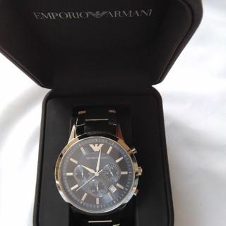 エンポリオアルマーニ(Emporio Armani)のあるさん専用Emporio  Armani腕時計AR2448★中古★取説箱付(腕時計(アナログ))