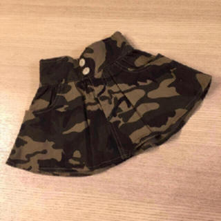 ニシマツヤ(西松屋)の61・【美品】西松屋♡迷彩柄スカート(スカート)