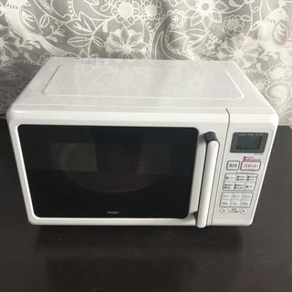 ハイアール(Haier)のHaier オーブンレンジ JM-V16B  15年製(電子レンジ)