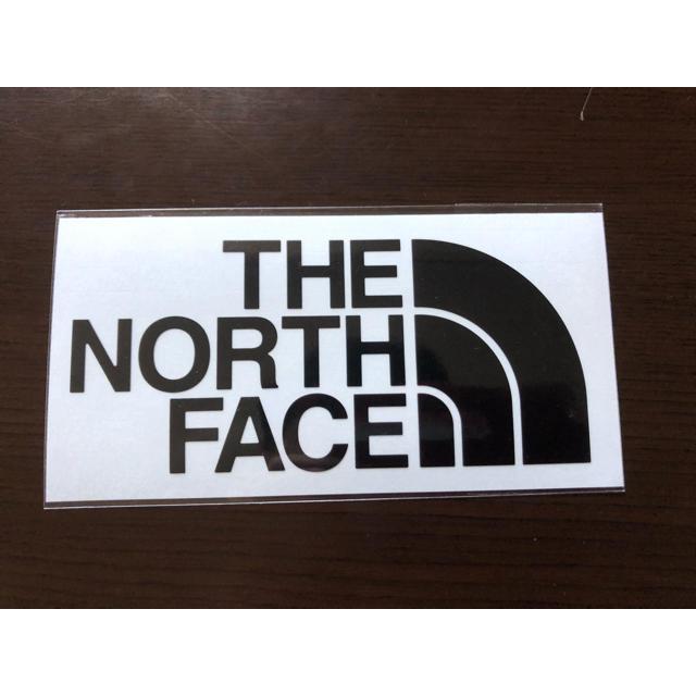 THE NORTH FACE(ザノースフェイス)のノースフェイス ステッカー 黒 自動車/バイクのバイク(ステッカー)の商品写真