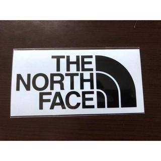 ザノースフェイス(THE NORTH FACE)のノースフェイス ステッカー 黒(ステッカー)