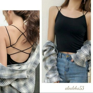 back open camisole