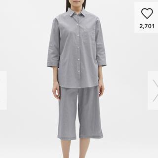 ジーユー(GU)の2490円+税購入☆GU綿100%パジャマ新品(パジャマ)