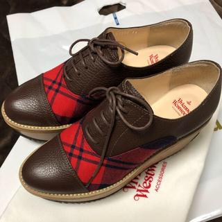 ヴィヴィアンウエストウッド(Vivienne Westwood)のviviennewestwood  靴 ロッキンホース厚底2018ヴィヴィアン (ローファー/革靴)