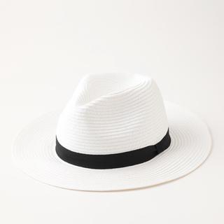 29ba5b772a8bb2 HONEYS - 麦わら帽子 中折れハット 白 gw の通販|ラクマ